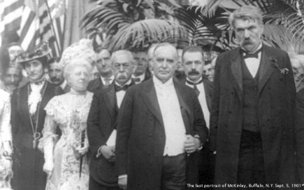 Last portrait of President William McKinley